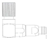 BALUN 1656 M 90G A CABLE DE PARES 28 E1E2